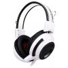 Гарнитура для пк Oklick HS-G300, бело-черная, купить за 980руб.