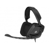 Гарнитура для пк Corsair Gaming VOID Surround Hybrid Stereo (Dolby 7.1, USB адаптер), черная, купить за 6 660 руб.