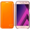 Samsung для Samsung Galaxy A3 (2017) Neon Flip Cover, розовый, купить за 1 515руб.
