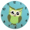 Часы интерьерные Hama Owl (136213), голубые, купить за 1030руб.