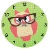 Часы интерьерные Hama Owl (136214), зеленые, купить за 900руб.
