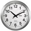 Часы интерьерные Hama CWA100 H-92645, бело-серебристые, купить за 1250руб.