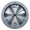 Часы интерьерные Бюрократ WallC-R05P, серебристые, купить за 1 190руб.