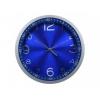 Часы интерьерные Бюрократ WallC-R05P, синие, купить за 1 190руб.