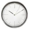 Часы интерьерные Бюрократ WallC-R28P, хром, купить за 1 190руб.