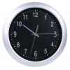 Часы интерьерные Бюрократ WallC-R02P, серебристые, купить за 1 100руб.