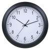 Часы интерьерные Бюрократ WallC-R02P, черные, купить за 1 100руб.