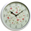 Часы интерьерные Бюрократ WallC-R23P, белые, купить за 1 115руб.