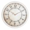 Часы интерьерные Бюрократ WallC-R27P, белые, купить за 815руб.