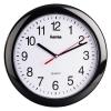 Часы интерьерные Hama PP-250 H-113920, черные, купить за 880руб.