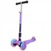 Самокат Y-Scoo 35 Maxi Fix Shine (светящиеся колёса) фиолетовый, купить за 3 075руб.