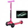 Самокат Y-Scoo Maxi Laser Show (свящаяся платформа) розовый, купить за 3375руб.