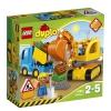 Конструктор Lego Duplo Грузовик и экскаватор, купить за 1 210руб.
