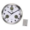 Часы интерьерные Hama AG-300 H-113982, серебристые, купить за 2065руб.