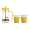 Товар Набор кофейный Bodum Bistro желтый, купить за 2 070руб.