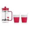 Товар Набор кофейный Bodum Bistro розовый, купить за 2 070руб.