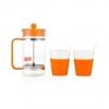 Товар Набор кофейный Bodum Bistro оранжевый, купить за 2 070руб.
