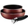 Набор посуды Tefal Ingenio 4162820 (3 предмета) красный, купить за 2 430руб.