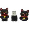 Usb-флешка SmartBuy Wild Series Catty 8GB (RTL), черная, купить за 760руб.