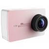 Видеокамера YI 4K Action Camera, розовая, купить за 24 710руб.