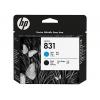 Картридж для принтера HP 831 CZ677A, голубой + чёрный, купить за 77 650руб.