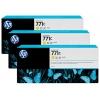 Картридж для принтера HP 771C B6Y34A (тройная упаковка), желтый, купить за 61 225руб.