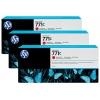 Картридж для принтера HP 771C B6Y32A, тройная упаковка, хроматический сный, купить за 63 885руб.