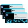 Картридж для принтера HP 771C B6Y38A, тройная упаковка, светло-серый, купить за 63 885руб.