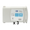 Картридж для принтера HP 90 C5083A, тройная упаковка, синий, купить за 45 340руб.