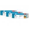 Картридж для принтера HP 91 C9486A, тройная упаковка, светло-синий, купить за 83 015руб.