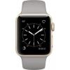 Умные часы Apple Watch Series 2 38mm, серо-золотистые, купить за 32 130руб.