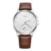 Умные часы Meizu Mix Leather MZWA1S, серебристо-коричневые, купить за 11 305руб.