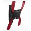 """Holder LCDS-5019 черный глянец для ТВ 10-37"""" настенный, +15°, поворот 40° (до 30кг), купить за 1 310руб."""