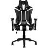 Компьютерное кресло Aerocool AC120-BW, черно-белое, купить за 14 820руб.
