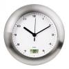 Часы интерьерные Hama Bathroom H-113914, серебристые, купить за 1375руб.