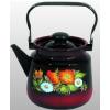 Чайник для плиты Стальэмаль 1с26я Шиповник, черный, купить за 855руб.