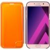 Чехол для смартфона Samsung для Samsung Galaxy A7 (2017) Neon Flip Cover, розовый, купить за 2025руб.