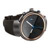 Умные часы Смарт-часы Asus ZenWatch 3 WI503Q, GunMetal/Rubber Strap Brown, купить за 17 985руб.