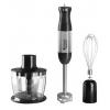 Блендер Hotpoint-Ariston HB 0603 DSL0, серебристый с черным, купить за 3 985руб.