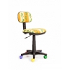 Компьютерное кресло Recardo Junior D10 Лягушки, желтое, купить за 2 200руб.