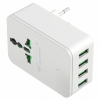 Зарядное устройство Orico S4U-TEU-WH (4xUSB 2.4A), белое, купить за 1 410руб.