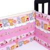 Товар для детей Idea Kids Бортики в кроватку Игрушки, розовые, купить за 1 440руб.