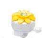 Аксессуар для детского транспорта Звонок 47Р-18/210203, цветок бело-желтый, купить за 200руб.