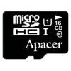 microSDHC 16Gb class10 Apacer UHS-I (R/W 45/10 MB/s), купить за 725руб.