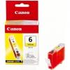 Картридж Canon BCI-6 Y, желтый, купить за 780руб.