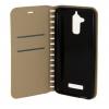 Чехол для смартфона Book Case New для Huawei Honor 5X, золотой, купить за 260руб.