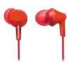 Наушники Panasonic RP-HJE125E-R, красные, купить за 760руб.