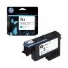 Картридж HP №744 F9J86A, фоточерный/голубой, купить за 4100руб.