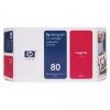 Картридж для принтера HP №80 C4874A оригинальный, пурпурный, купить за 8780руб.