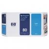 Картридж для принтера HP №80 C4872A оригинальный, голубой, купить за 10 660руб.